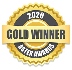 2020 Gold Winner Aster Awards