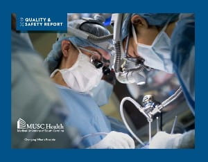 MUSC Quality & Safety Report cover thumbnail