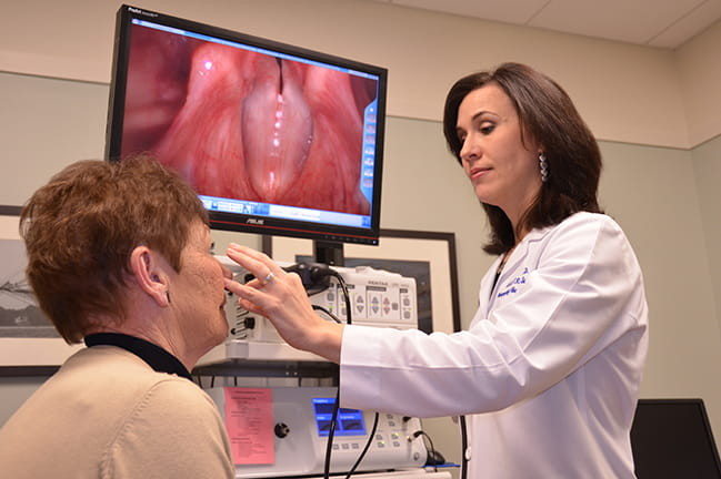 Laryngology/Voice & Swallowing | MUSC Health | Charleston SC