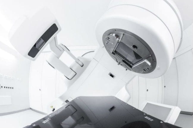 Image of device used to do surface guided radiation therapy