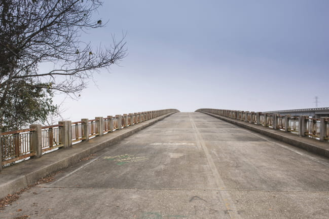 Photograph of Bridge in Santee South Carolina