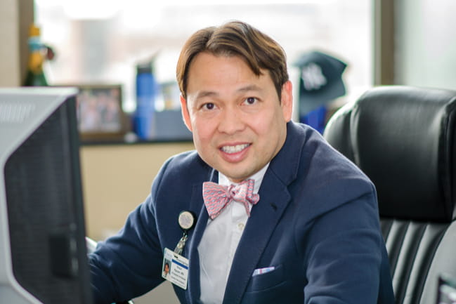 Dr. Shaun A. Nguyen leads the ENT clinical trials program