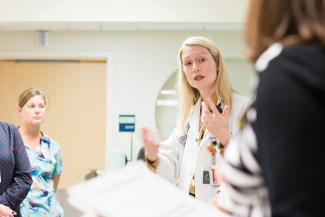 Dr. Michelle Hudspeth says MUSC is poised to become the only CTL019 center in South Carolina