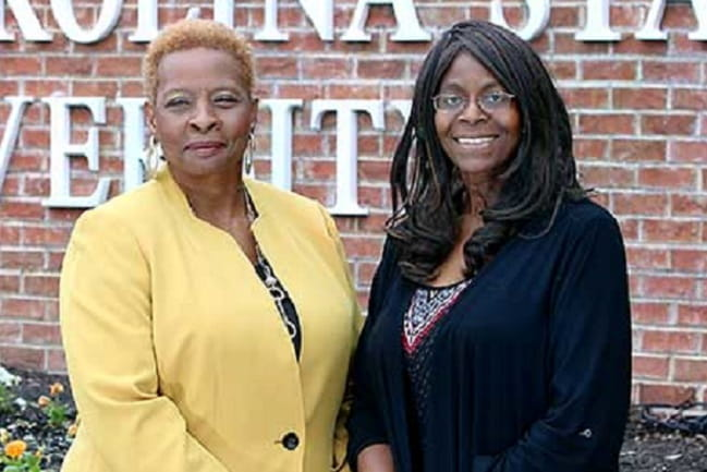 Marvella Ford (R) and Judith Salley-Guydon (L) lead the South Carolina Cancer Disparities Research Center at SCSU.