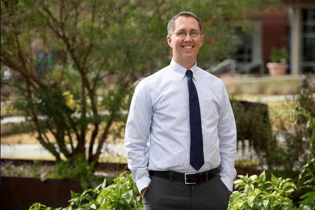 MUSC researcher Kevin Gray, M.D., examined the effectiveness of a common smoking cessation drug on adolescents in a recent study.