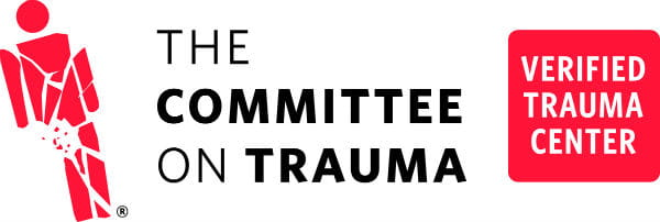 Verified Trauma Center logo from The Committee on Trauma