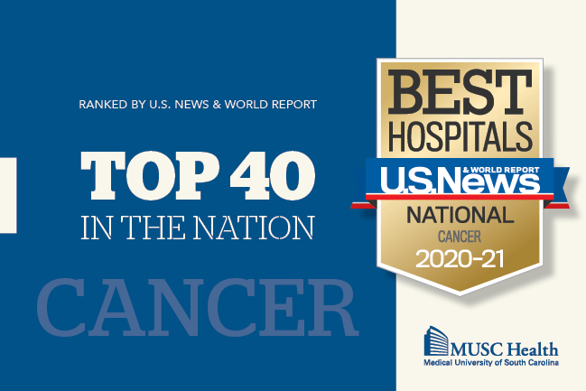 US News & World Report Best Hospitals Top 40 in the Nation for Cancer