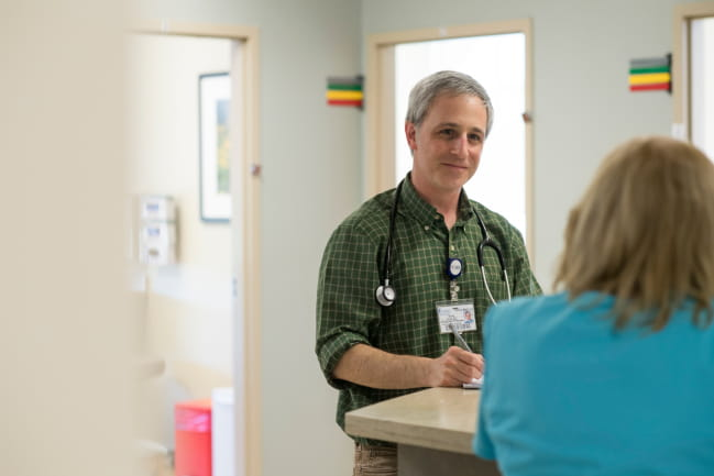 Dr. Scott Lloyd specializes in family medicine at North Charleston Primary Care.