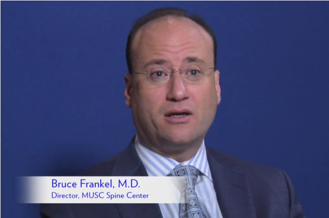 Photo of Bruce Frankel, M.D., Director of MUSC Spine Center