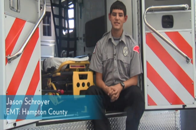 Photo of Jason Schroyer EMT  from Hampton County