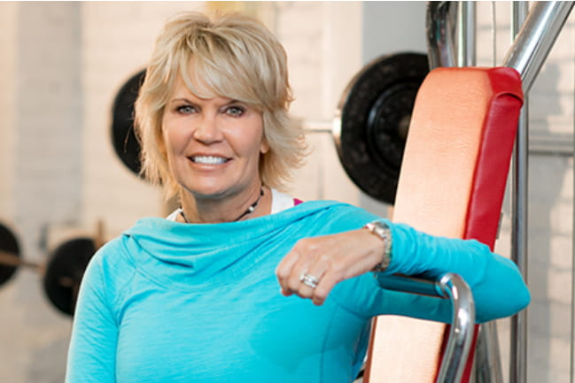 "McKenzie - Working out daily in the gym, playing tennis and beach walking put Mandy McKenzie in an enviable place at 49. ""I was feeling healthy and in great shape,"" she enthuses."
