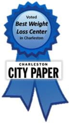 Voted Best Weight Loss Center in Charleston 3rd year in a row